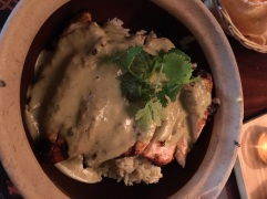Green curry grilled chicken