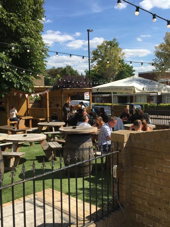 Beer Garden - astroturf