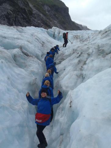 climbing up the viennetta